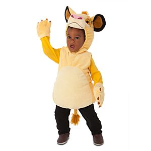 Lion King - Plush Simba Costume for Infants and Toddlers