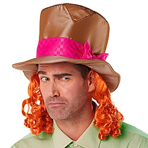 Mad Hatter Hat for Adults - Alice Through the Looking Glass