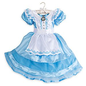 Alice Classic Costume for Kids - Alice in Wonderland