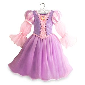 Rapunzel Light-Up Costume for Kids