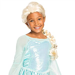 Elsa Costume Wig for Kids