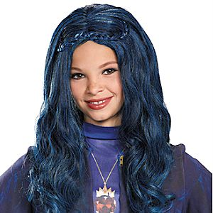 Evie Wig for Kids by Disguise - Descendants - Blue
