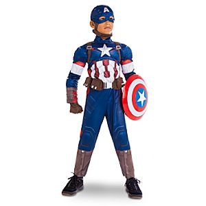 Captain America Costume for Boys - Marvels Avengers: Age of Ultron