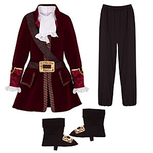 Captain Hook Costume for Boys