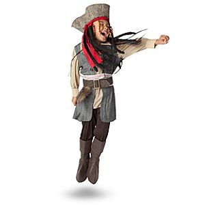 Captain Jack Sparrow Costume for Boys
