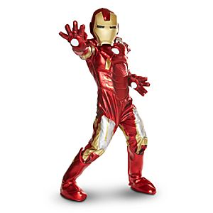 Iron Man Deluxe Costume for Kids