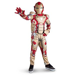 Iron Man 3 Deluxe Light-Up Costume for Boys