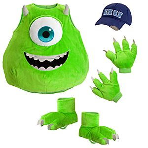 Mike Wazowski Costume for Boys - Monsters University