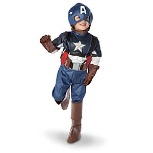 Captain America Costume for Boys