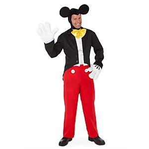 Tuxedo Mickey Mouse Costume for Adults