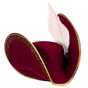 Captain Hook Hat for Kids