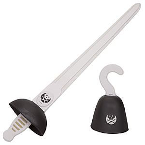 Captain Hook Accessories Set -- 2-Pc.