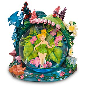 Tinker Bells Never Land Snowglobe
