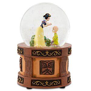 Snow White Mini Snow Globe