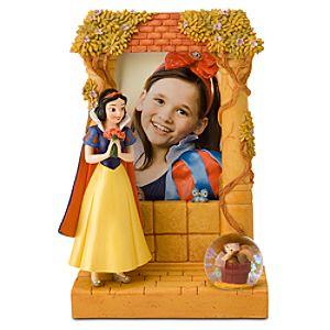 Snow White Snow Globe Frame