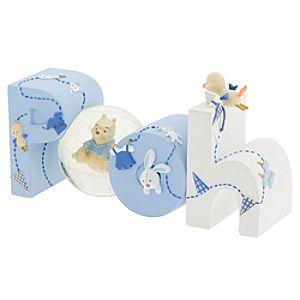 Winnie the Pooh Mini Snow Globe Baby Blue
