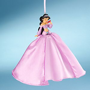 Jasmine Doll Ornament with Holiday Gown