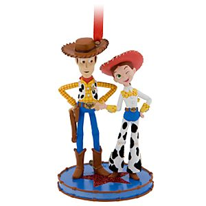 Toy Story Jessie and Woody Ornament