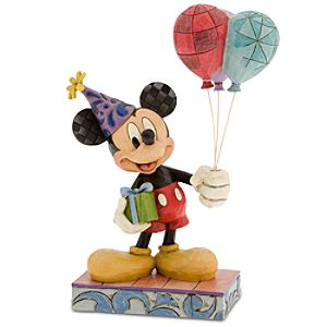 """Cheerful Celebration"" Mickey Mouse Figurine by Jim Shore"