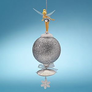 Personalized Glitter Tinker Bell Ornament