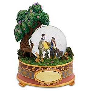 Personalized Happily Ever After Snow White Snow Globe
