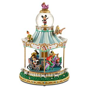 World of Disney Snowglobe Carousel