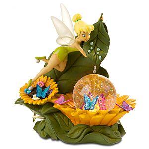 Sunflower Tinker Bell Snow Globe