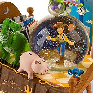 Toy Story Snow Globe with Buzz Lightyear Ornament