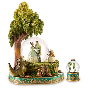 The Princess and the Frog Snow Globe Set 2-Pc.