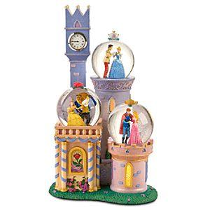 Disney Princess Castle Snow Globe