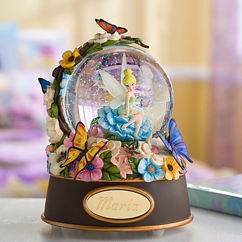Personalized Enchanted Evening Tinker Bell Snowglobe