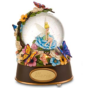 Personalized Enchanted Evening Tinker Bell Snow Globe