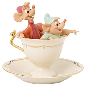 Tea Party Pals Jaq & Gus Figurine by Lenox