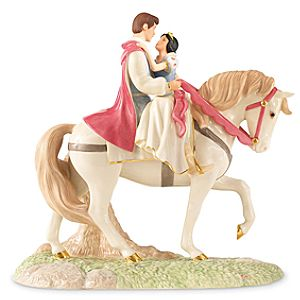 Limited-Edition Dreams Come True Snow White Figurine by Lenox