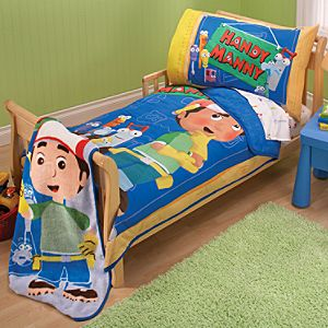 4-Pc. Handy Manny Bedding Set for Toddlers