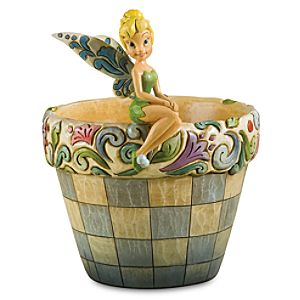 Tinker Bell Flower Pot by Jim Shore
