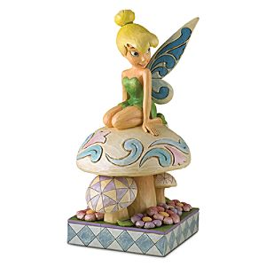 ''A Little Pixie Dust to Make Your Garden Grow'' Tinker Bell Garden Statue by Jim Shore