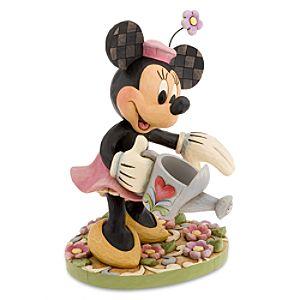 Minnies Secret Garden Minnie Mouse Garden Statue by Jim Shore