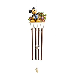 Mickey Mouse Wind Chime by Jim Shore