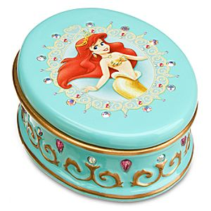 Disney Princess Ariel Treasure Box by Dept. 56