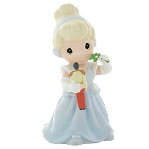 Theres Magic Under the Mistletoe Cinderella Figurine by Precious Moments