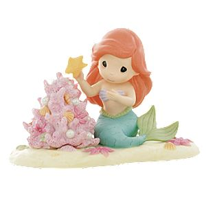 The Christmas Spirit is a Part of My World Ariel Figurine by Precious Moments