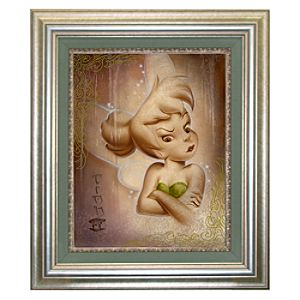 Framed Limited-Edition ''Up in a Fuss'' Tinker Bell Giclée