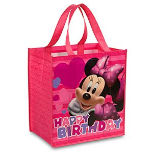 Birthday Minnie Eco Shopping Bag