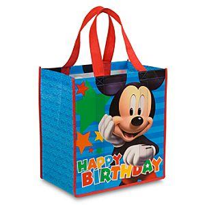 Birthday Mickey Eco Shopping Bag