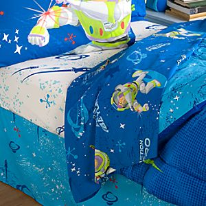 Action Hero Buzz Lightyear Sheet Set