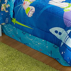 Action Hero Buzz Lightyear Bedskirt