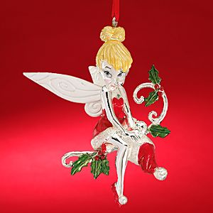 Santas Little Helper Tinker Bell Ornament by Lenox