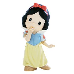 Your Kiss Can Put a Smile on the Grumpiest Face Snow White Figurine by Precious Moments