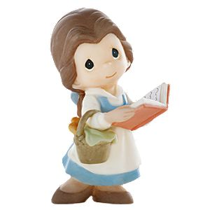 Were Always on the Same Page Belle Figurine by Precious Moments